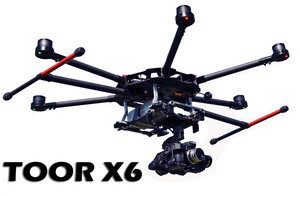DRON profesjonalny TOOR X6 do FOTO VIDEO