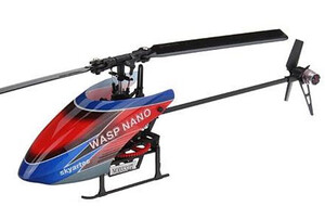 Helikopter WASP Nano CPX 2.4GHz 3D Flybarless RTF