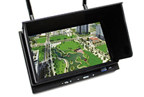 Monitor video Skyzone FPV 800x480 7,0 cala  Diversity Receiver nagrywarka DVR