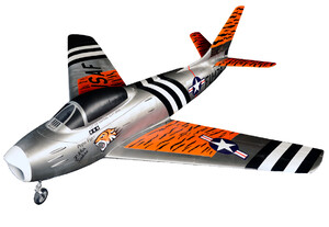 Model samolotu RC  F-86 SABRE KIT
