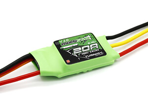 Regulator Multistar 20 A Multi-copter ESC 2-6S V2 With BLHeli 4A BEC