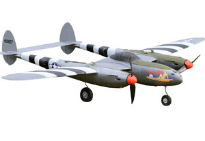 Model samolotu RC  P-38 LIGHTNING KIT